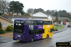 2018-04-09 First day of operation of the Route 20 by Wilts & Dorset.  (23)023
