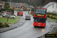 2018-04-09 First day of operation of the Route 20 by Wilts & Dorset.  (26)026