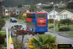 2018-04-09 First day of operation of the Route 20 by Wilts & Dorset.  (28)028