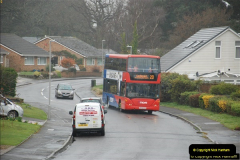 2018-04-09 First day of operation of the Route 20 by Wilts & Dorset.  (3)003