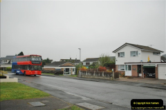 2018-04-09 First day of operation of the Route 20 by Wilts & Dorset.  (32)032