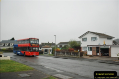 2018-04-09 First day of operation of the Route 20 by Wilts & Dorset.  (33)033