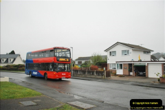 2018-04-09 First day of operation of the Route 20 by Wilts & Dorset.  (34)034