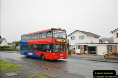 2018-04-09 First day of operation of the Route 20 by Wilts & Dorset.  (35)035