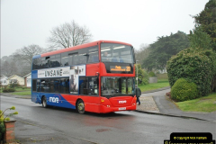 2018-04-09 First day of operation of the Route 20 by Wilts & Dorset.  (39)039