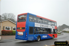 2018-04-09 First day of operation of the Route 20 by Wilts & Dorset.  (40)040