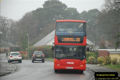 2018-04-09 First day of operation of the Route 20 by Wilts & Dorset.  (41)041