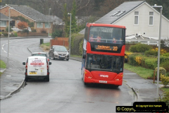 2018-04-09 First day of operation of the Route 20 by Wilts & Dorset.  (5)005