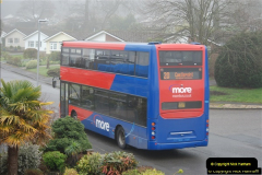 2018-04-09 First day of operation of the Route 20 by Wilts & Dorset.  (51)051