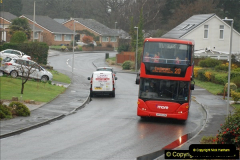 2018-04-09 First day of operation of the Route 20 by Wilts & Dorset.  (6)006