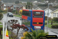 2018-04-09 First day of operation of the Route 20 by Wilts & Dorset.  (8)008