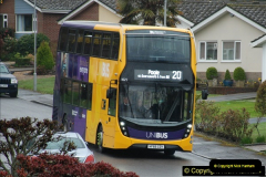 2018-04-09 First day of operation of the Route 20 by Wilts & Dorset.  (9)009