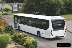 2018-09-01 The one and only white WD bus.  (7)105