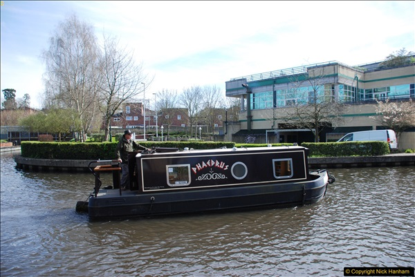 2017-03-25 On the Grand Union Canal near Uxbridge, Middlesex.  (104)266