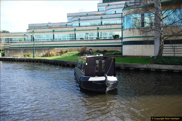 2017-03-25 On the Grand Union Canal near Uxbridge, Middlesex.  (105)267