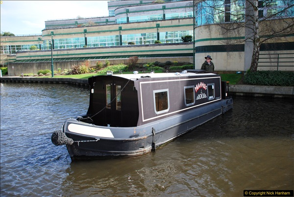 2017-03-25 On the Grand Union Canal near Uxbridge, Middlesex.  (106)268