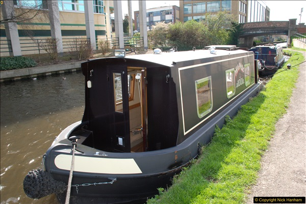 2017-03-25 On the Grand Union Canal near Uxbridge, Middlesex.  (108)270