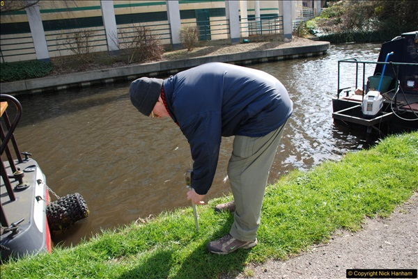 2017-03-25 On the Grand Union Canal near Uxbridge, Middlesex.  (110)272