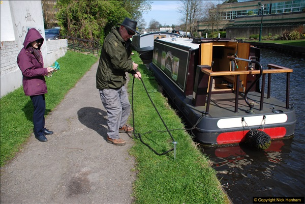 2017-03-25 On the Grand Union Canal near Uxbridge, Middlesex.  (111)273
