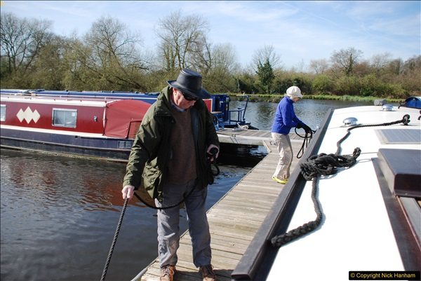 2017-03-25 On the Grand Union Canal near Uxbridge, Middlesex.  (12)174