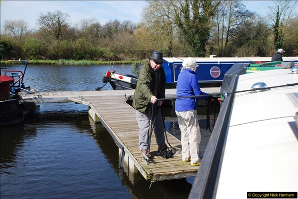 2017-03-25 On the Grand Union Canal near Uxbridge, Middlesex.  (13)175