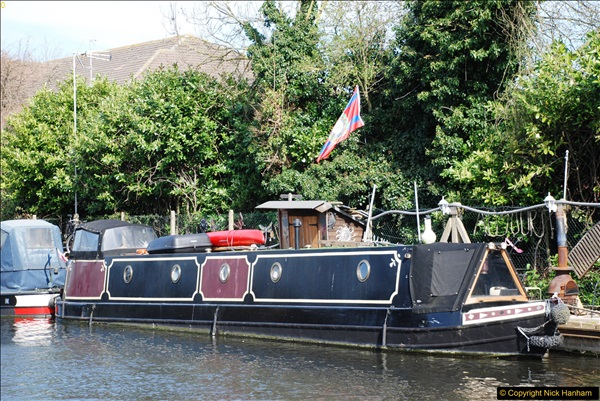 2017-03-25 On the Grand Union Canal near Uxbridge, Middlesex.  (132)294