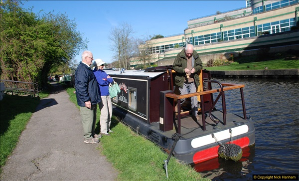 2017-03-25 On the Grand Union Canal near Uxbridge, Middlesex.  (136)298