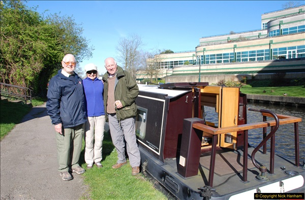 2017-03-25 On the Grand Union Canal near Uxbridge, Middlesex.  (137)299