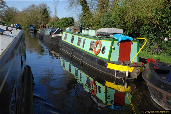 2017-03-25 On the Grand Union Canal near Uxbridge, Middlesex.  (153)315