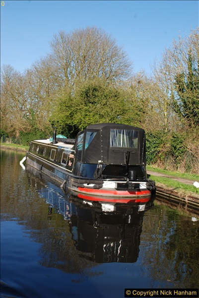 2017-03-25 On the Grand Union Canal near Uxbridge, Middlesex.  (158)320
