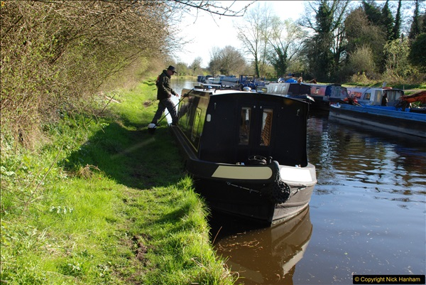 2017-03-25 On the Grand Union Canal near Uxbridge, Middlesex.  (165)327