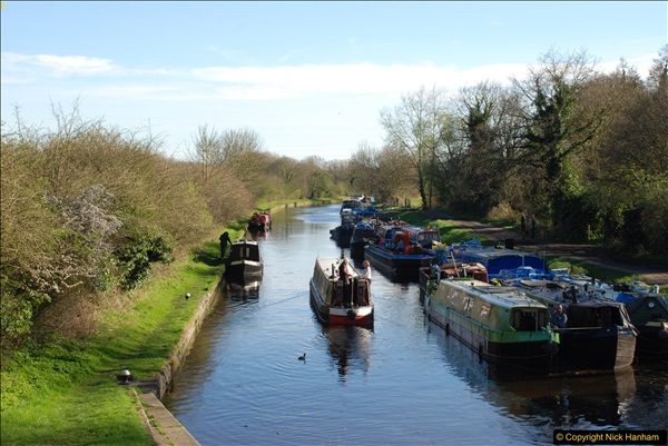 2017-03-25 On the Grand Union Canal near Uxbridge, Middlesex.  (167)329