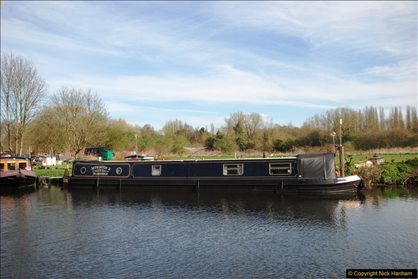 2017-03-25 On the Grand Union Canal near Uxbridge, Middlesex.  (17)179