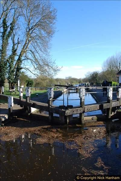 2017-03-25 On the Grand Union Canal near Uxbridge, Middlesex.  (173)335