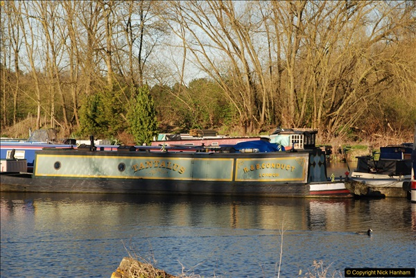 2017-03-25 On the Grand Union Canal near Uxbridge, Middlesex.  (182)344