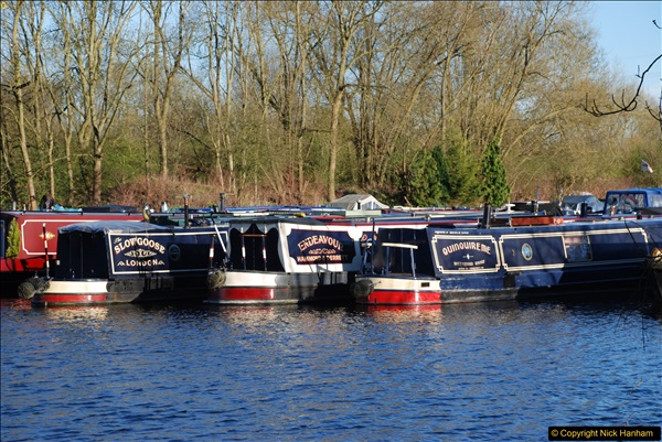 2017-03-25 On the Grand Union Canal near Uxbridge, Middlesex.  (183)345