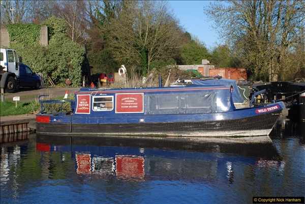 2017-03-25 On the Grand Union Canal near Uxbridge, Middlesex.  (187)349