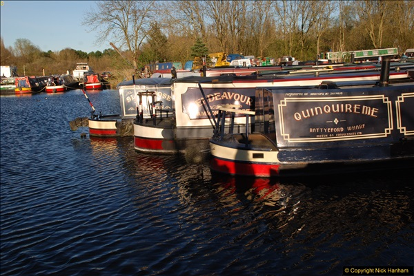 2017-03-25 On the Grand Union Canal near Uxbridge, Middlesex.  (191)353