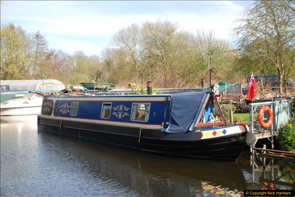2017-03-25 On the Grand Union Canal near Uxbridge, Middlesex.  (19)181