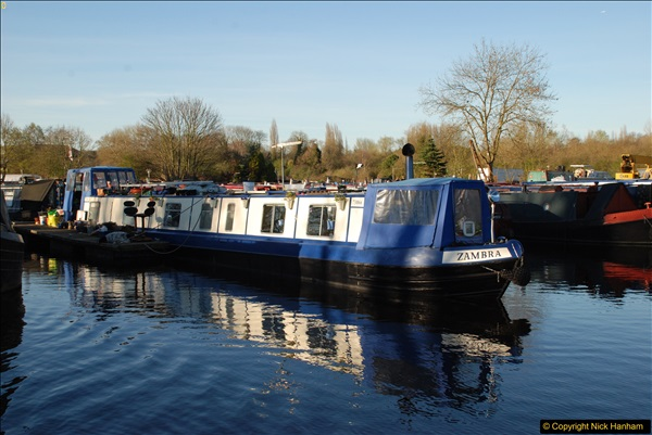 2017-03-25 On the Grand Union Canal near Uxbridge, Middlesex.  (192)354