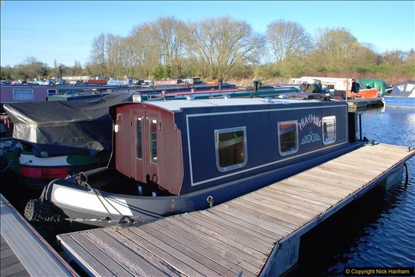 2017-03-25 On the Grand Union Canal near Uxbridge, Middlesex.  (196)358