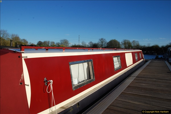 2017-03-25 On the Grand Union Canal near Uxbridge, Middlesex.  (198)360