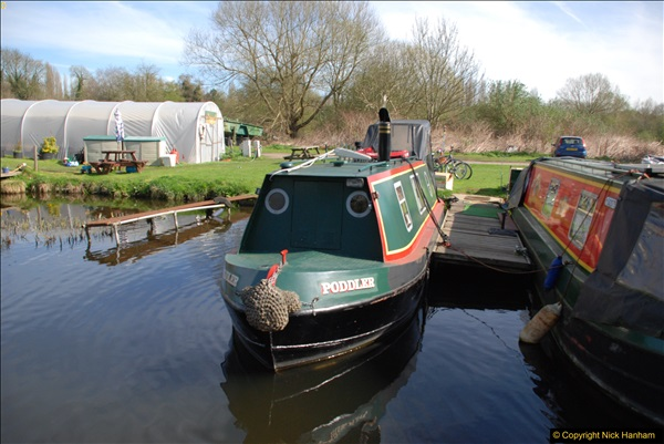 2017-03-25 On the Grand Union Canal near Uxbridge, Middlesex.  (20)182