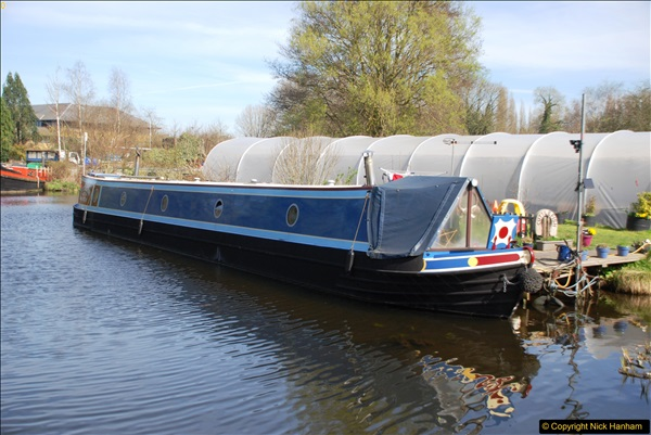 2017-03-25 On the Grand Union Canal near Uxbridge, Middlesex.  (21)183