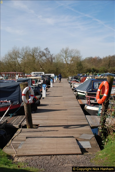 2017-03-25 On the Grand Union Canal near Uxbridge, Middlesex.  (2)164