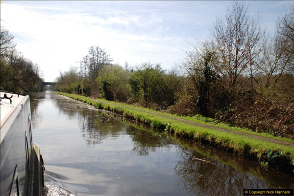 2017-03-25 On the Grand Union Canal near Uxbridge, Middlesex.  (28)190
