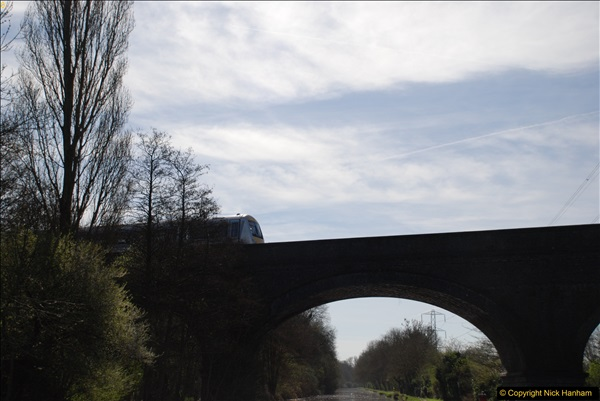 2017-03-25 On the Grand Union Canal near Uxbridge, Middlesex.  (29)191