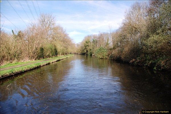 2017-03-25 On the Grand Union Canal near Uxbridge, Middlesex.  (37)199