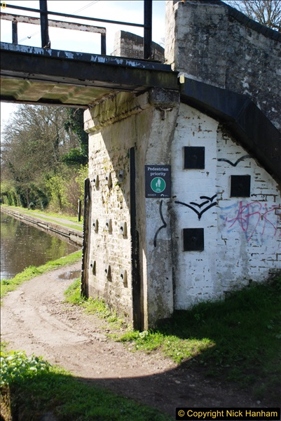 2017-03-25 On the Grand Union Canal near Uxbridge, Middlesex.  (39)201
