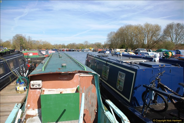 2017-03-25 On the Grand Union Canal near Uxbridge, Middlesex.  (4)166